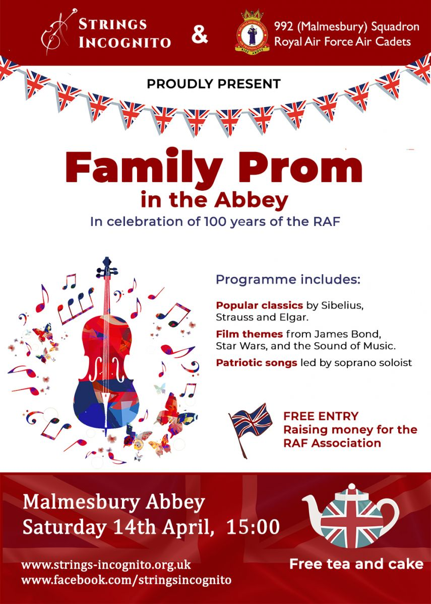 Prom in the Abbey poster